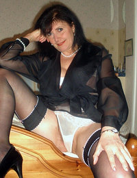 hot mature stockings fuck