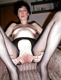 hot girl masturbating in black stockings