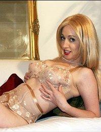 nylon stockings girdle sex