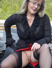 women in stockings hot gif