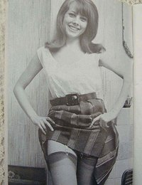 Timid gals pose in favorite vintage lingerie and show their nice and seductive bodies